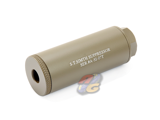 Action 35x80mm S.T. Simth Suppressor Silencer (DE, 14mm-) *
