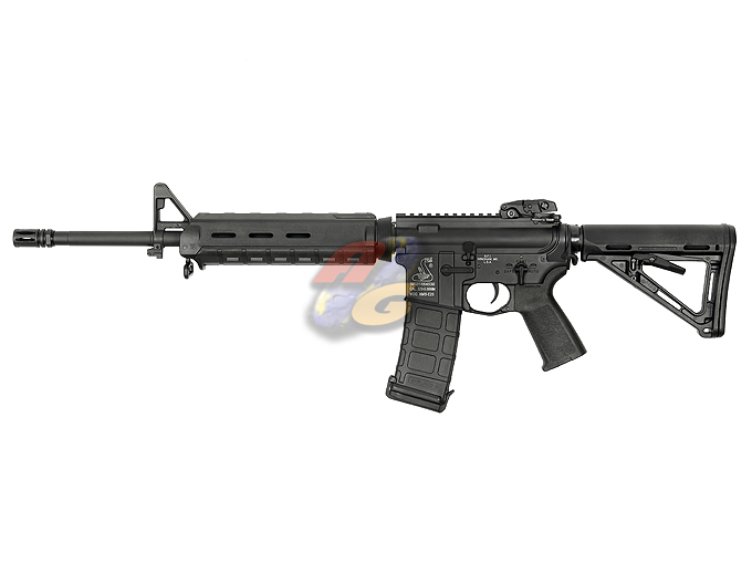AG Custom X Beta Project X Magpul PTS Mid Length M4 AEG (Blowback, BK, Bushmaster) *