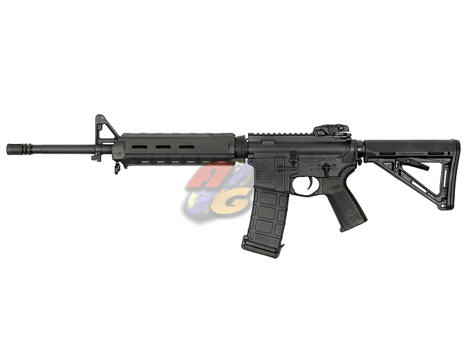 AG Custom X Beta Project X Magpul PTS Mid Length M4 AEG (Blowback, BK, Colt) *