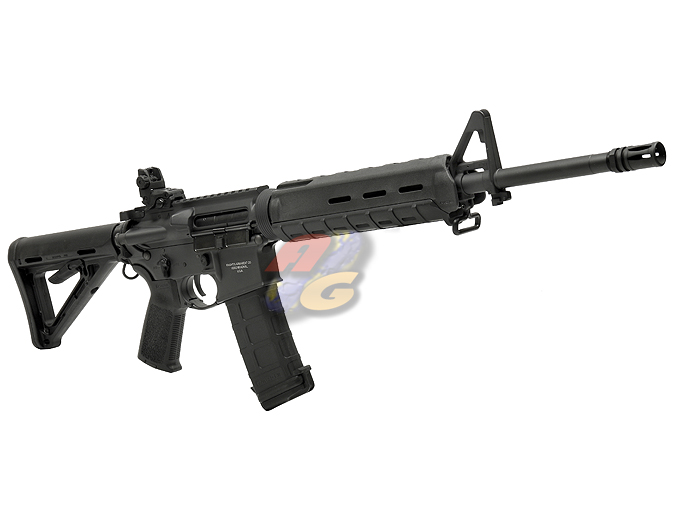 AG Custom X Beta Project X Magpul PTS Mid Length M4 AEG (Blowback, BK, KAC) *