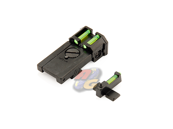 AG Glow Fiber Front & Rear Sight For Marui Hi-Capa 5.1