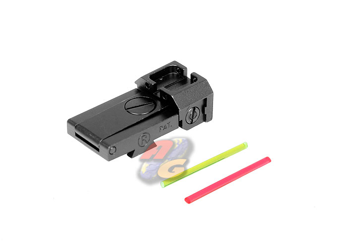 AG Glow Fiber Rear Sight For Marui Hi-Capa