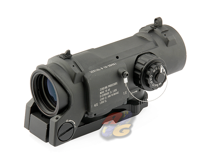 AG-K SpecterDR Style 1-4 X Magnifier Illuminated Scope