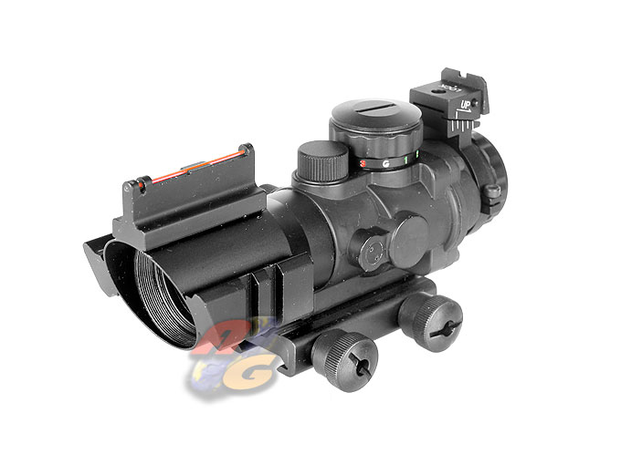AG-K 4x32 Illuminated Scope With Glow Fiber Sight