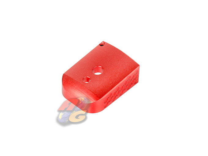 AIP Prime Magazine Base For Marui Hi-Capa 5.1 Magazine (Red)