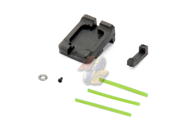 Big Dragon Fiber Optics Metal Real Sight For KSC GLOCK Series ( Green )