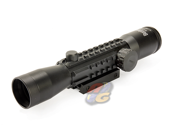 BN 6x32E TRI-RAIL Tactical Scope With Illuminator *