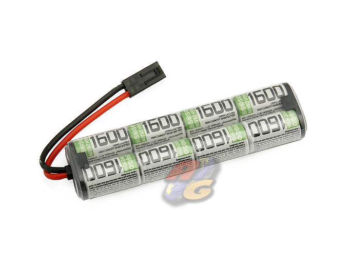 BOL 1600mAh 8 Cells 9.6V Mini Battery