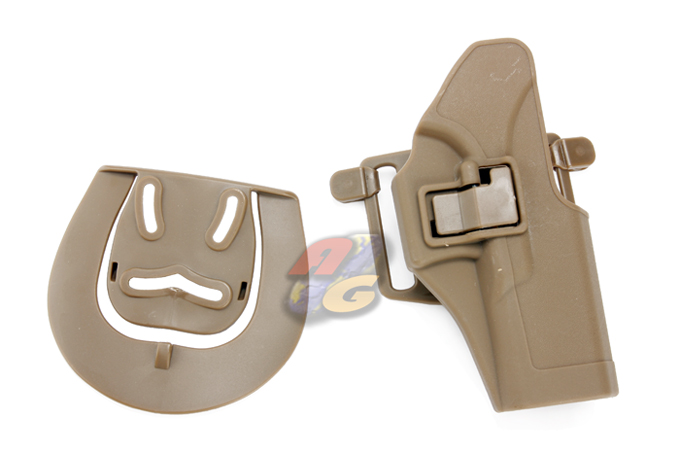 Burst CQC Holster With BeltLoop For Glock 17/ 22 - Tan *
