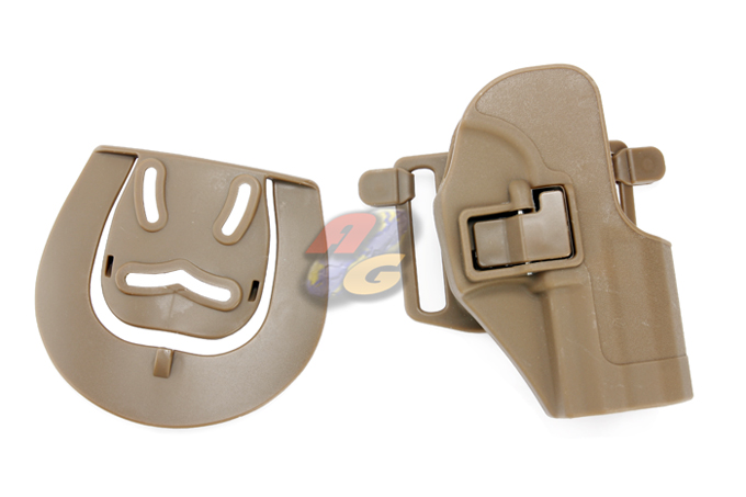 Burst CQC Holster With BeltLoop For H&K USP Compact - Tan * - Click Image to Close