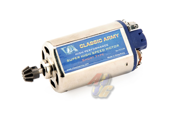 Classic Army Super High Speed Motor - Short Type