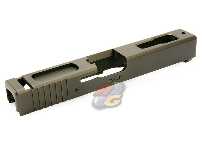 Guarder 7075 Aluminum CNC Slide For Marui Glock 18C (OD)