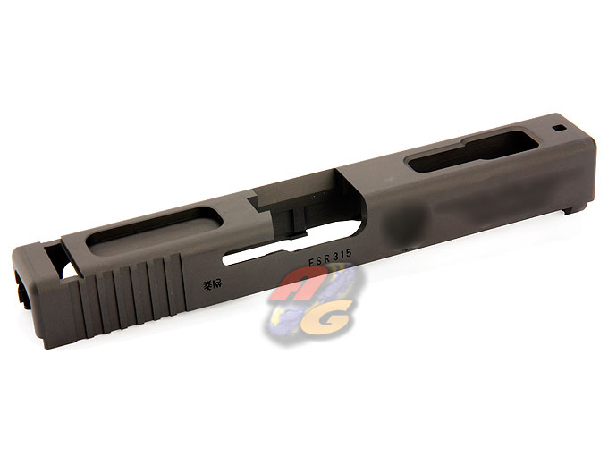 Guarder 7075 Aluminum CNC Slide For Marui Glock 18C (BK, FSB )
