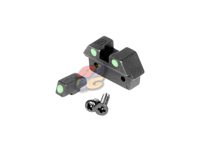 Guarder Steel Night Sight For Marui G26 (Green Dot)