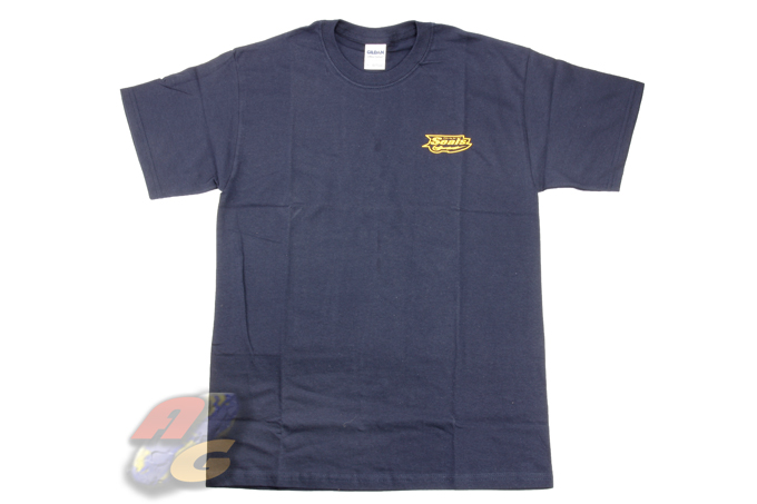 Gildan T-Shirt ( Dark Blue, Navy Seals, XL )