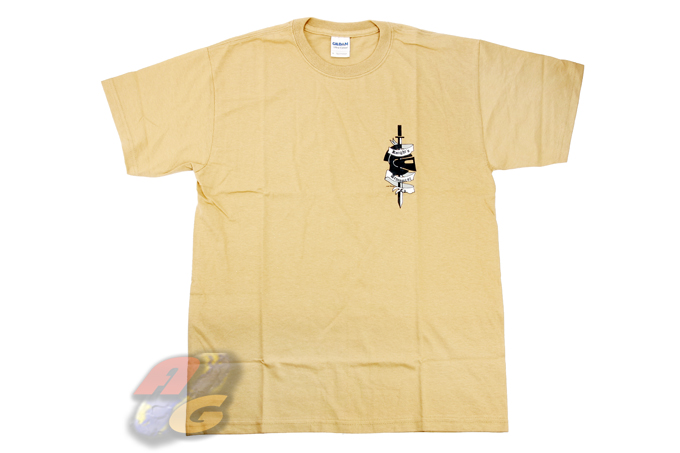 Gildan T-Shirt ( Tan, KAC, XL )