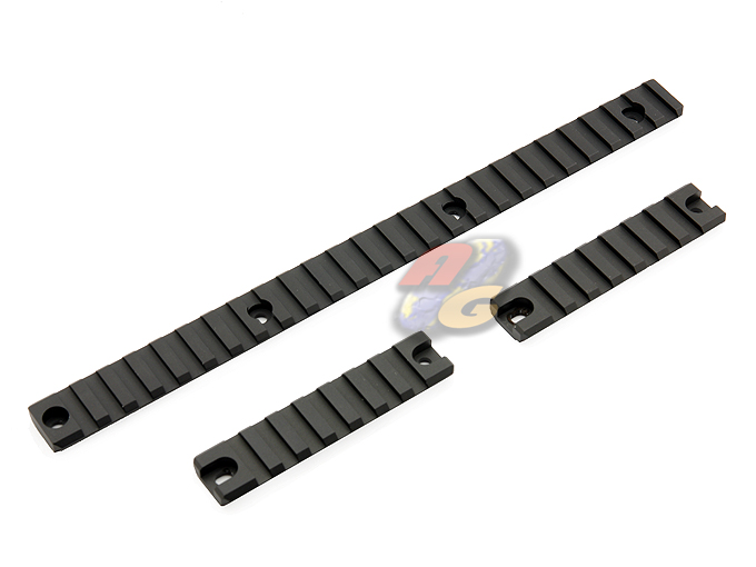 GunsModify 7075 Aluminum CNC Rail Set For KSC/ KWA/ Umarex MP7A1