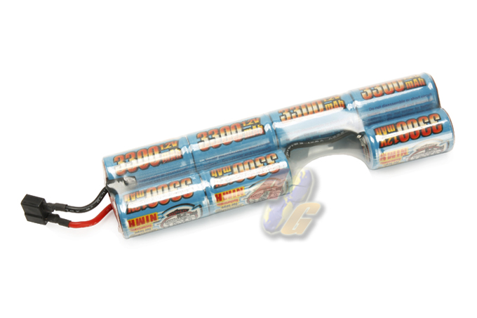G&P 8.4V 3300mah Battery For G&P G36 Folding Buttstock ( Ni-MH )
