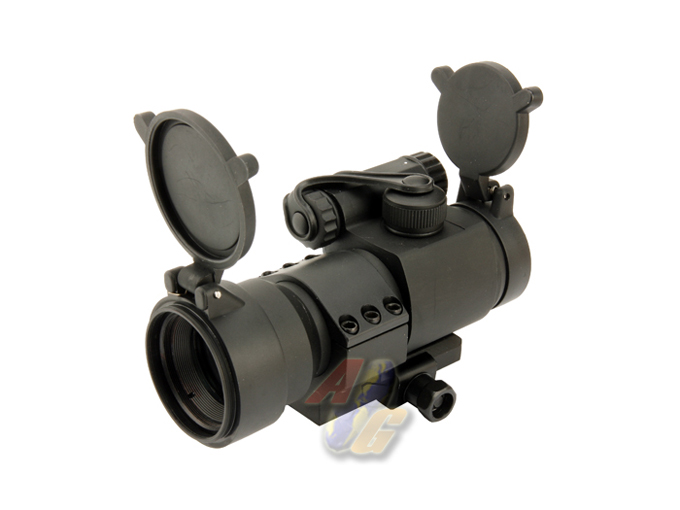 G&P 1x30 Military Type 30mm Red/ Green Dot Sight - Click Image to Close