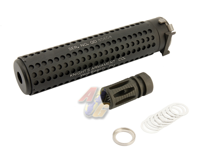 G&P M4 KAC QD Silencer With SR-16 Flash Hider (14mm Anti-Clockwise)