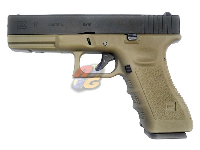 HK G17 (With Marking, Tan Frame, Metal Slide)