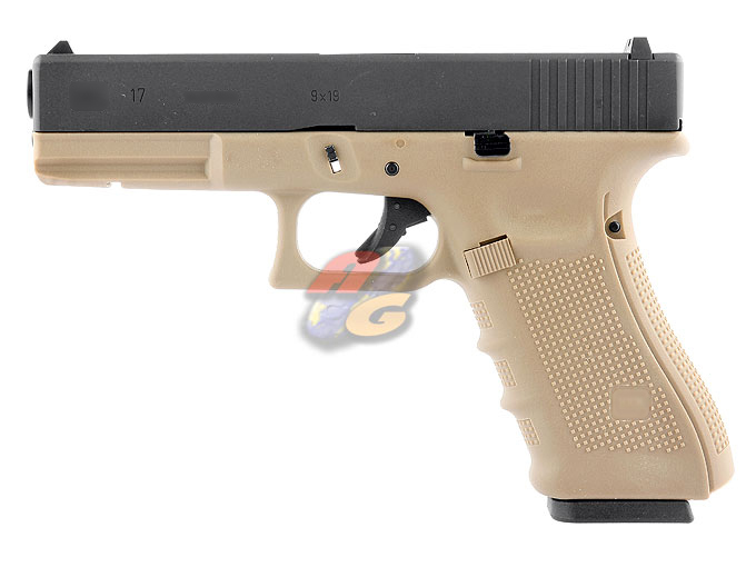 HK G17 Gen 4 (With Marking, Tan, Metal Slide)