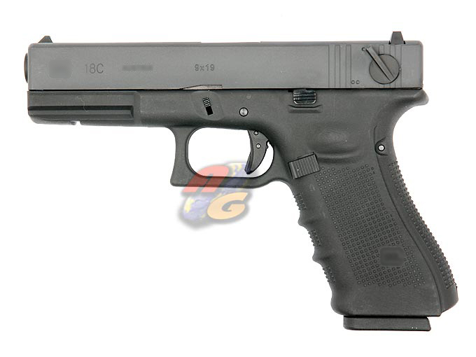 HK G18C Gen 4 (With Marking, BK, Metal Slide)