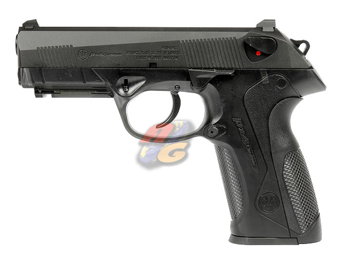 HK PX4 (Metal Slide, BK, Transparent Frame)