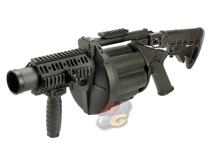 ICS Revolver Grenade Launcher (Multiple Rounds)