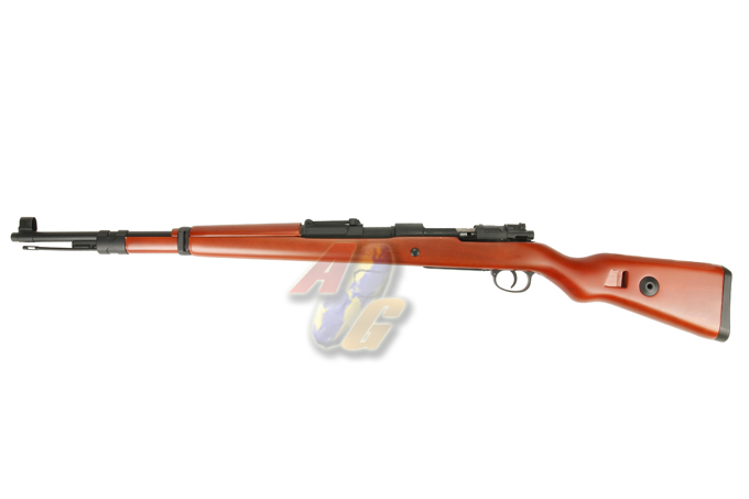 K-Cube Mauser KAR 98K Air-Cocking Rifle (Real Wood Stock , Gas Version )