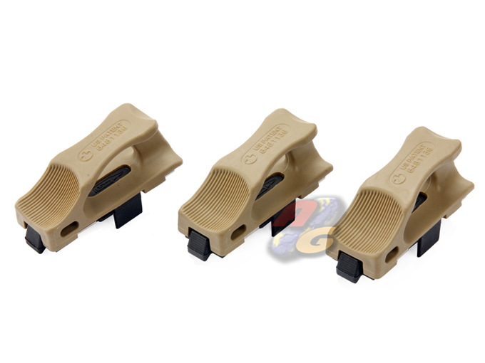 Magpul PTS Ranger Floor Plate For Marui / PTW Magazine (3 Pcs, DE)