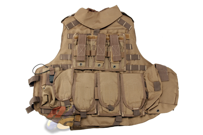 Mega-Force OTV Molle Full System - Army Brown *