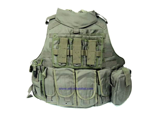 Mega-Force OTV Molle Full System - Army Green *