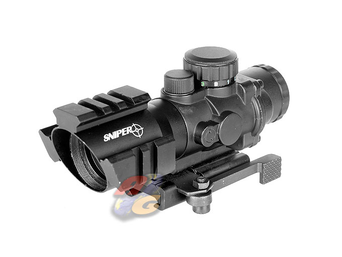 Sniper PM 4X32 TB Tri-Rail Scope