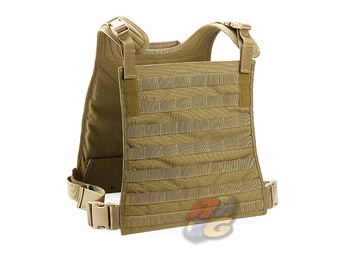 TMC MBSS Style Plate Carrier With 4 Pouches (Tan)