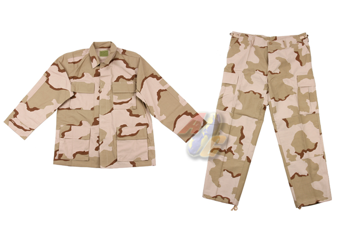 V-Tech 3 Color Desert Camo B.D.U. (Large-Regular)