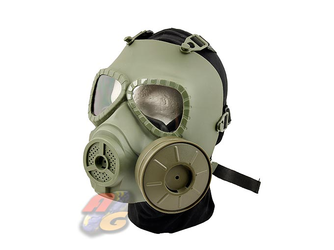 V-Tech Toxic Mask Style Fan Airsoft Mask ( OD )
