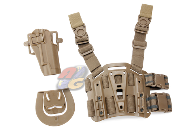 V-Tech CQC Holster & Plateform For Colt 1911 ( Tan ) *