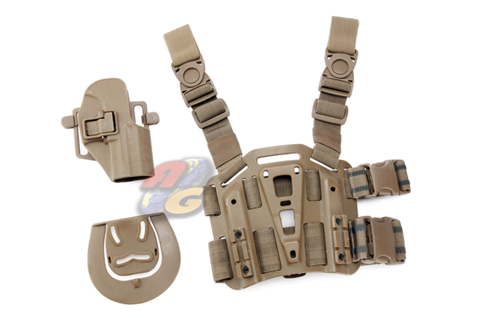 V-Tech CQC Holster & Plateform For USP Compact ( Tan ) *