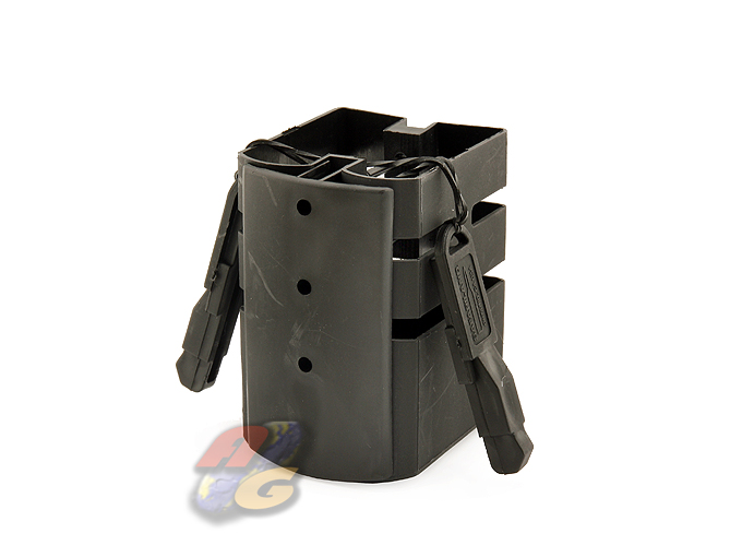 V-Tech SAFARI Double M4 Magazine Holder (BK)