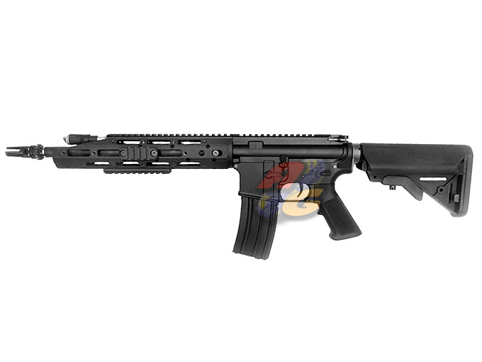 WE M4 Raptor AEG (BK, WE KATANA Spring Release System) - Click Image to Close
