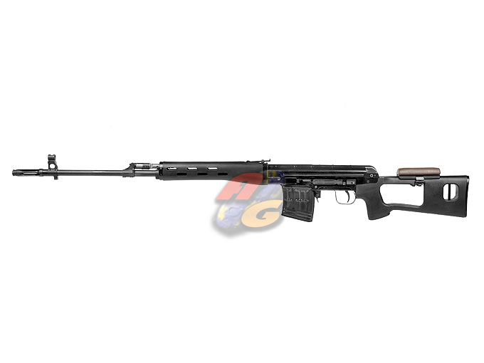 WE ACE VD ( SVD ) Sniper Rifle GBB (BK, Aluminum)