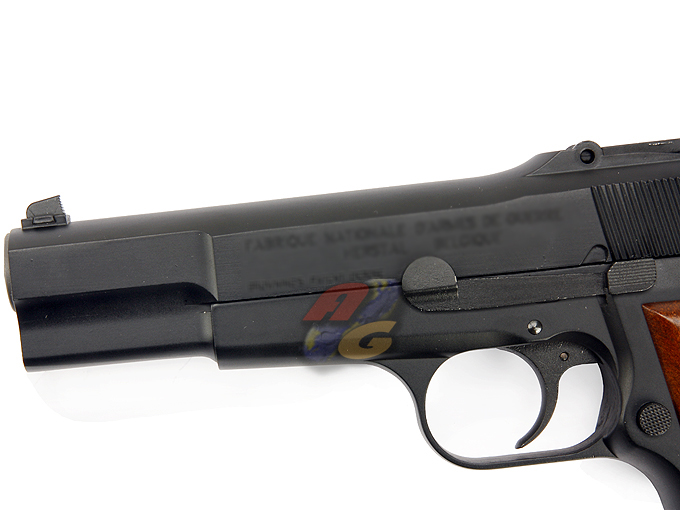 WE Hi-Power Browning M1935 (Full Metal, With Marking) - Click Image to Close