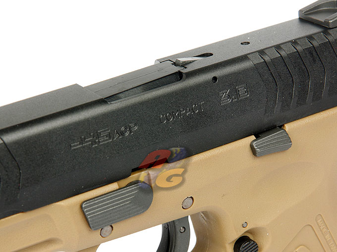 -In Stock- WE XDM .45 Compact 3.8 GBB Pistol (DE Frame)