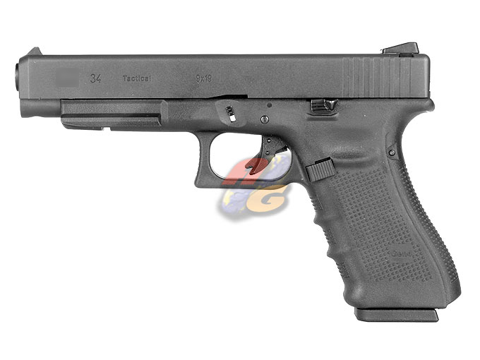 WE G34 Gen 4 GBB Pistol (With Marking, BK, Metal Slide)