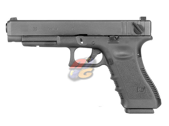 WE G35 GBB Pistol (With Marking, BK, Metal Slide)
