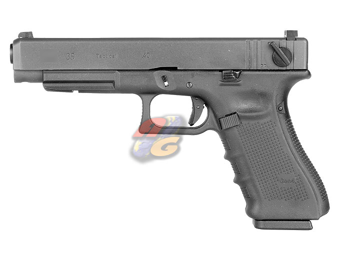 WE G35 Gen 4 GBB Pistol (With Marking, BK, Metal Slide)