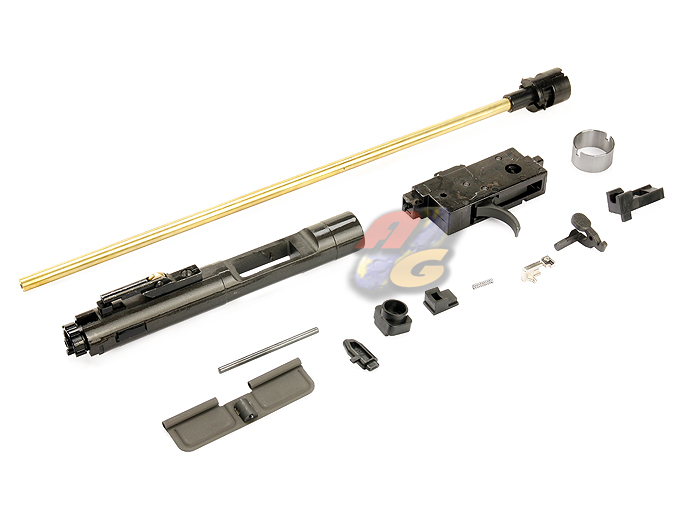 WE M4 Open Bolt Assembly - Click Image to Close