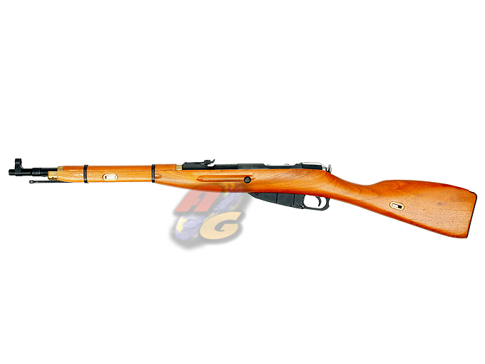 Zeta Lab Realwood & Full Steel Mosin Nagant Carbine w/ bayonet (Gas, Gen.3 Enhanced Hop Up Version)