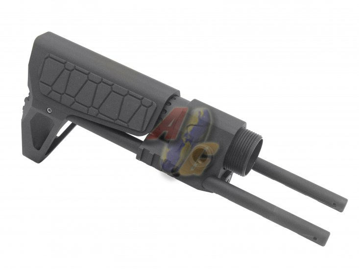 G&P M4 GBB PDW Stock For WA, G&P M4 Series GBB ( Slim/ Snake/ Black ) - Click Image to Close